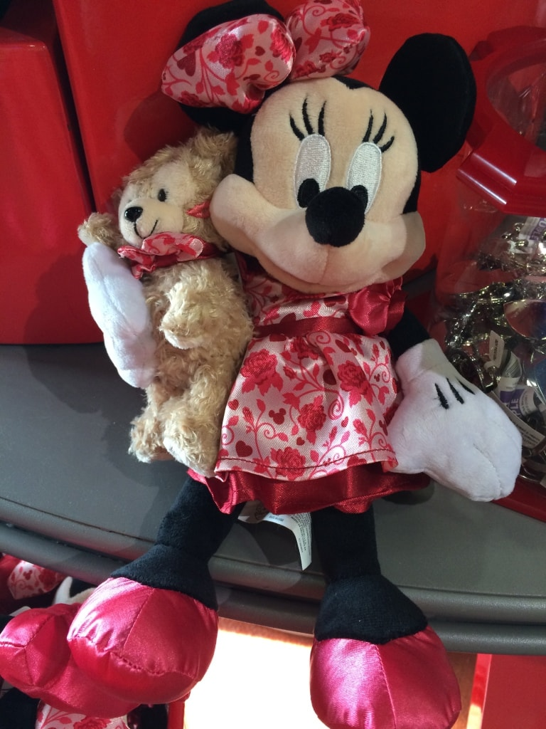 Minnie Mouse Plush toy with Teddy Bear Valentines Day Cupid