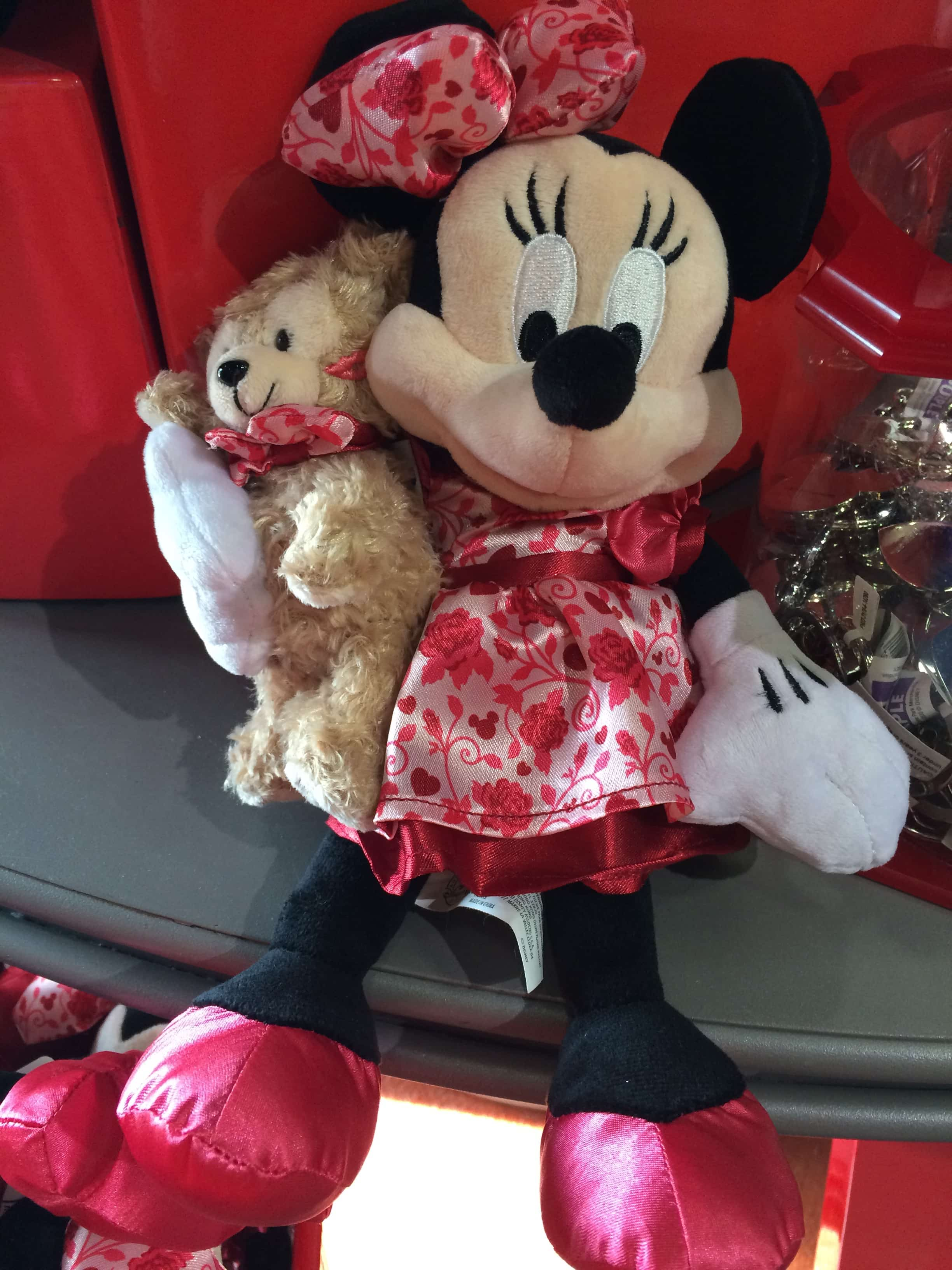 ... Minnie Mouse Plush Toy With Teddy Bear Valentines Day Cupid ...
