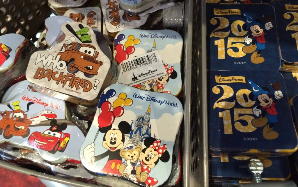 Walt Disney World Resort washcloths 2015 cars