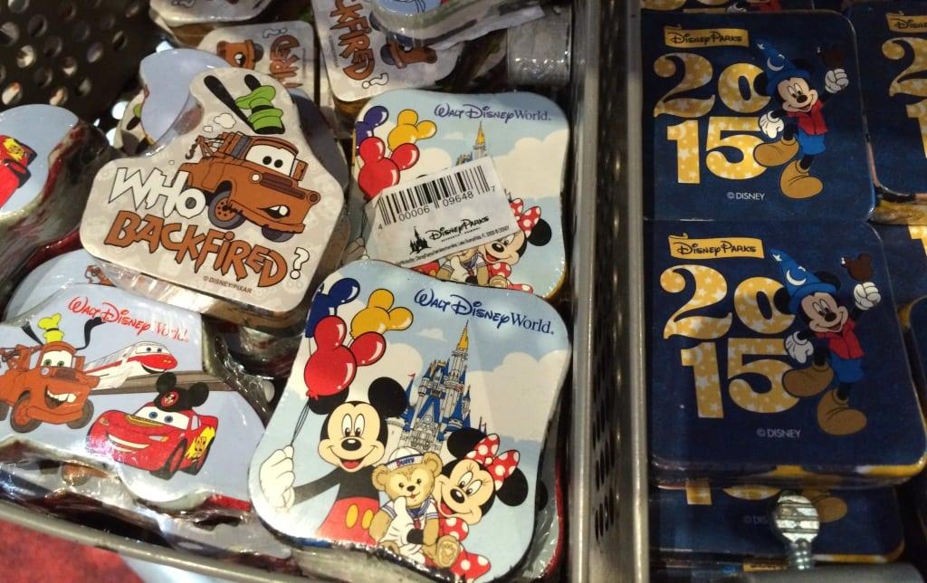 Walt Disney World Resort washcloths 2015 cars