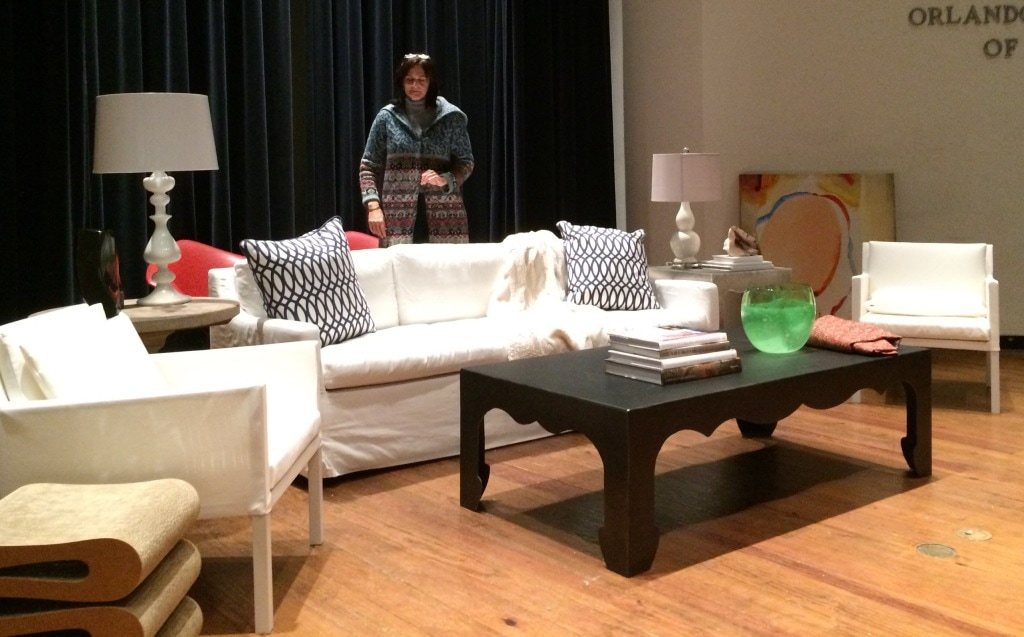 The Art of Décor will showcase design options with antiques and modern furniture.