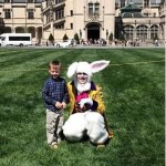 The Easter Bunny Arrives At Biltmore Estate