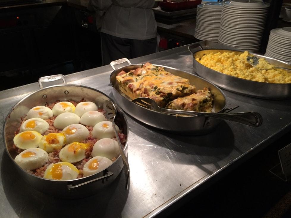 Corned Beef Hash, Scrambled Eggs