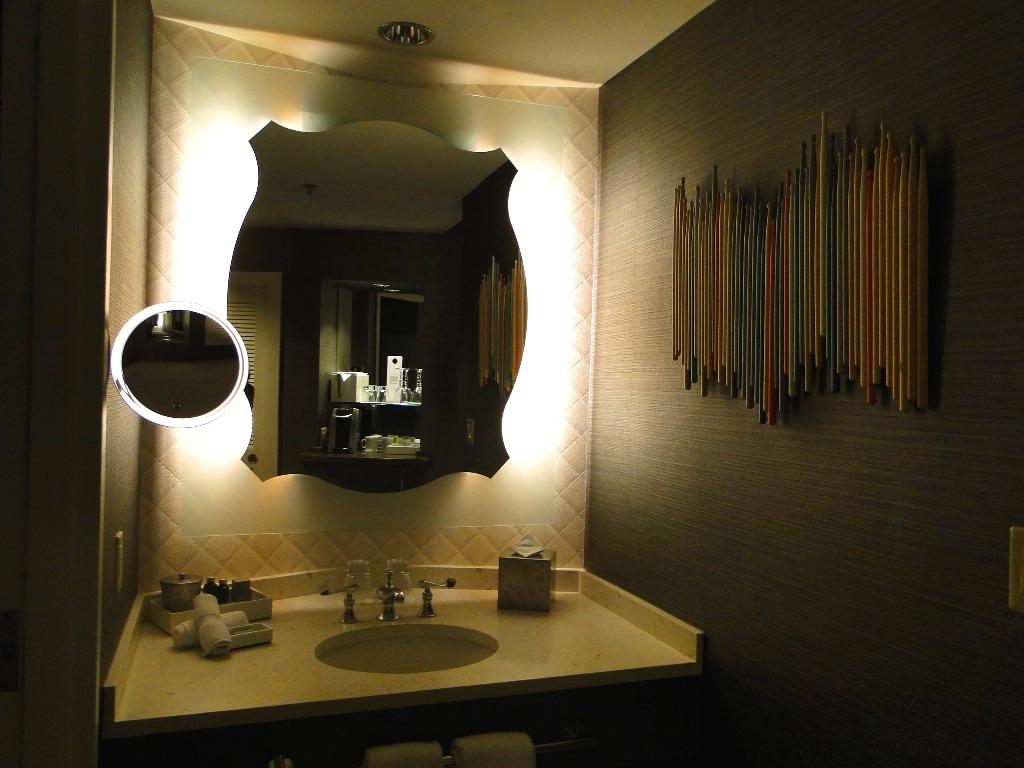 Hard Rock Hotel Orlando room bathroom
