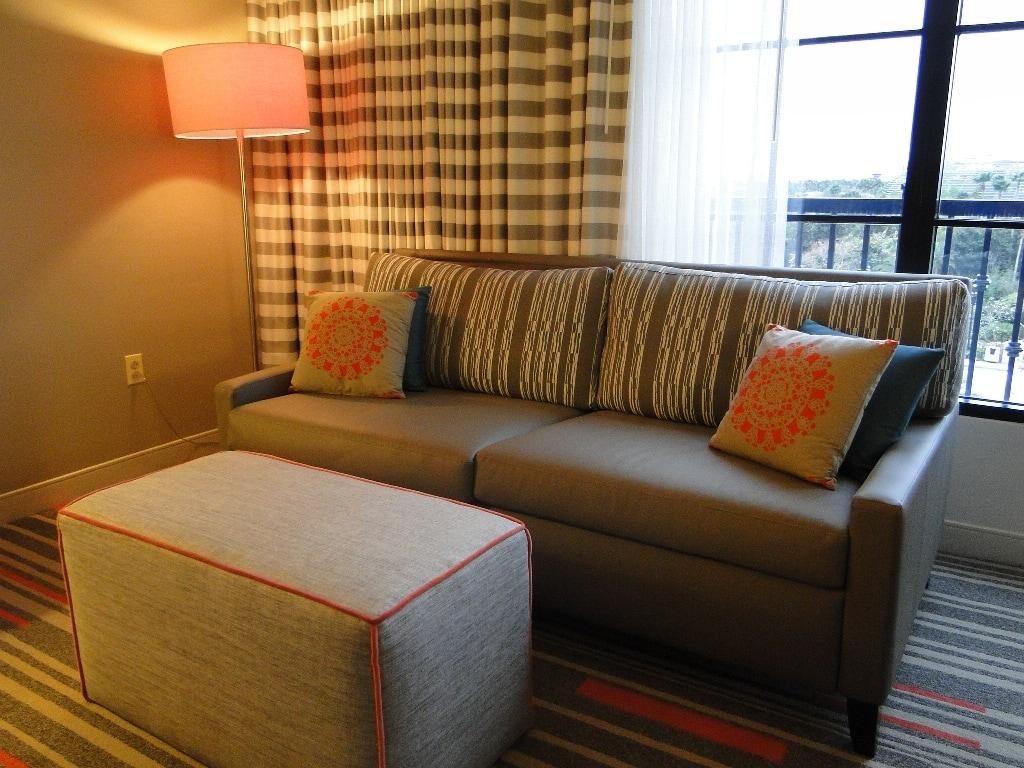 Hard Rock Hotel Orlando room living area
