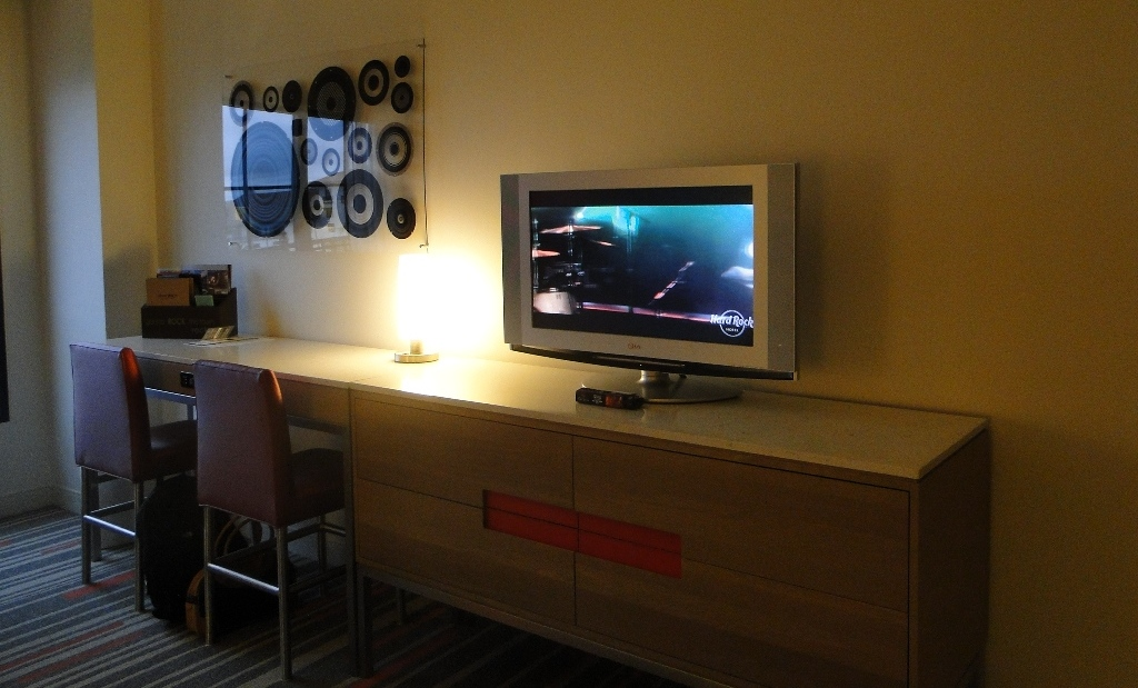 Hard Rock Hotel Orlando room tv