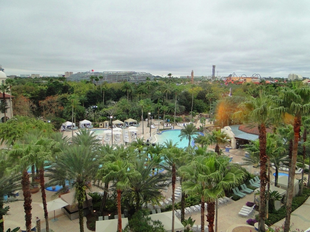 hard rock hotel orlando pool view