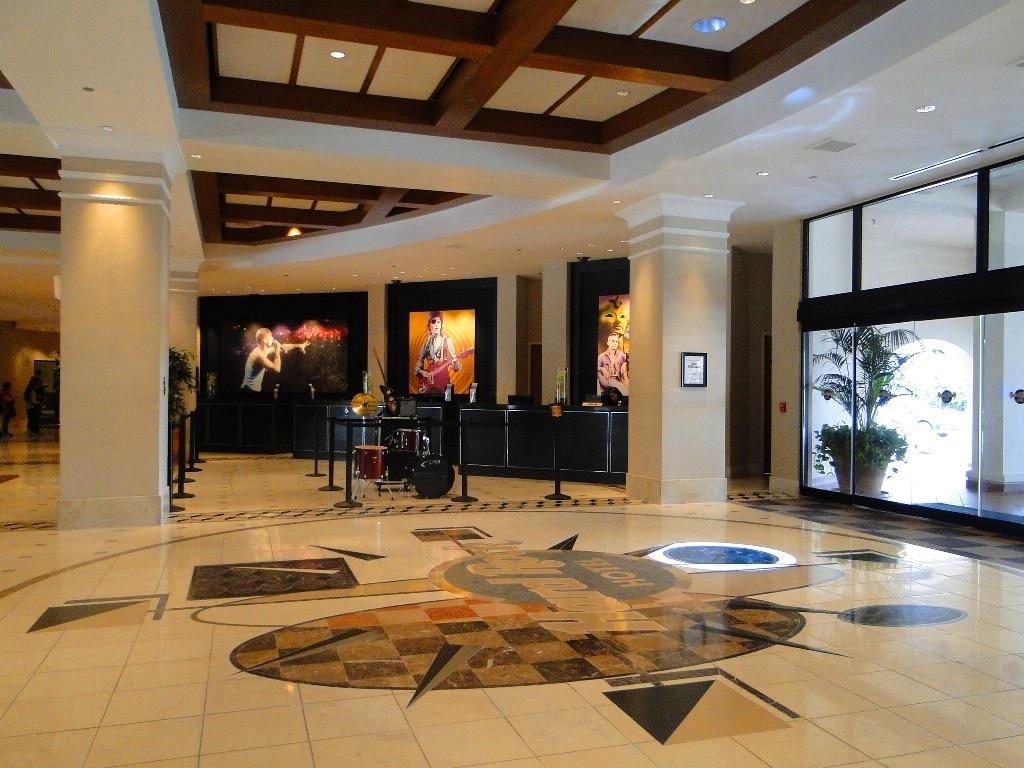 hard rock hotel orlando lobby
