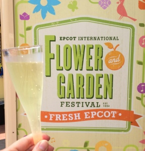 Epcot Flower and Garden Festival Sign