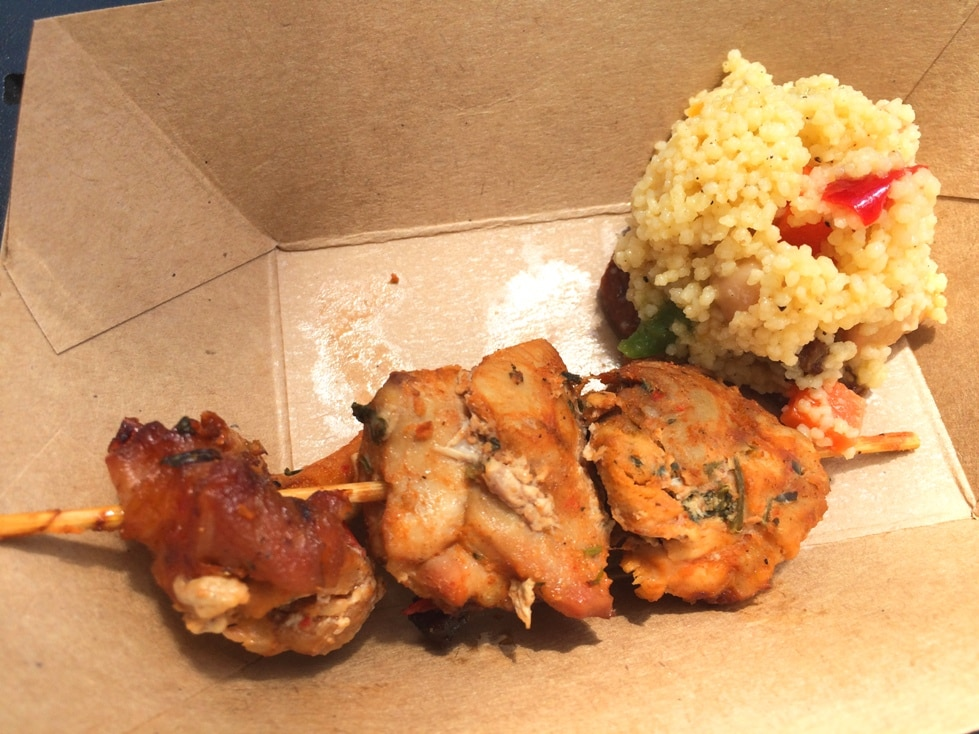Harissa Chicken Kebab Morocco Epcot Food Festival