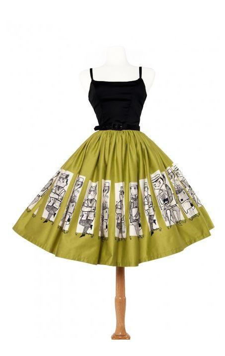 Mary Blair Commuters Skirt