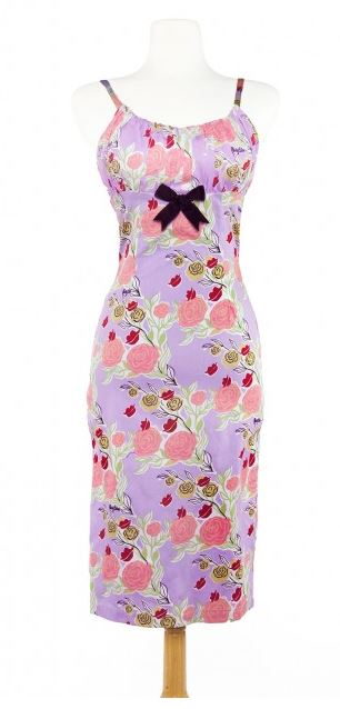 Mary Blair Print Dress