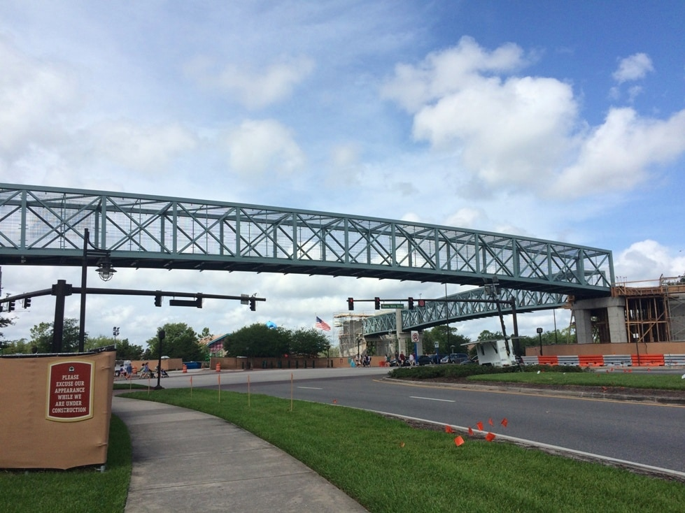 Pedestrian Bridges Dowtown Disney Springs