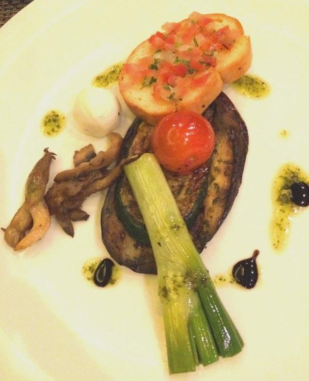 Grilled Eggplant Anti Pasti