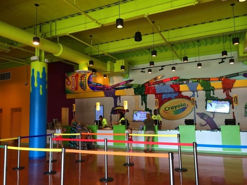 Crayola Experience Orlando Entry