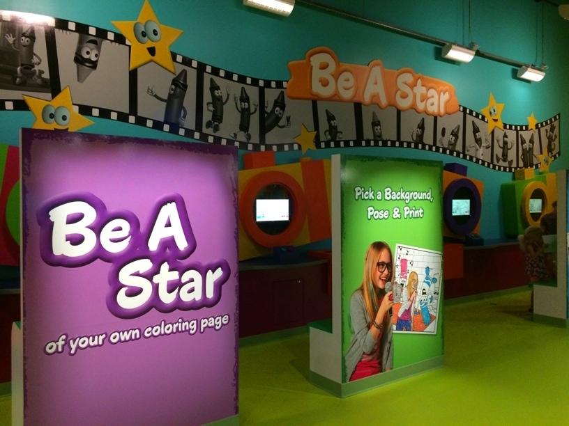 Be a Star Crayola Experience Orlando