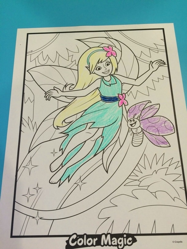 Color Magic Color Your Own Character Crayola Experience