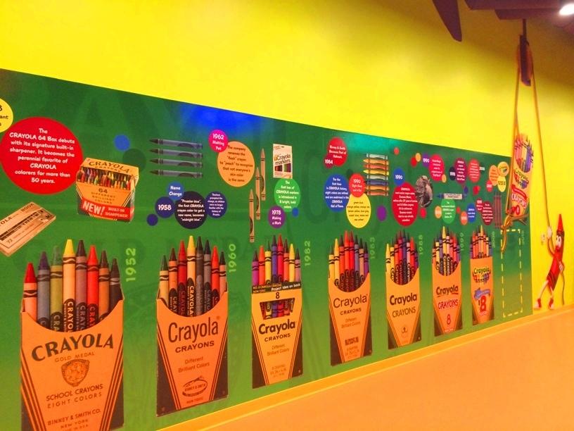 Vintage Crayola Crayon Boxes Orlando