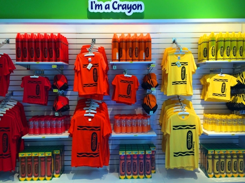 Crayola Merchandise Orlando