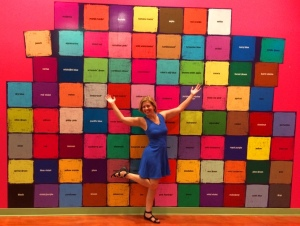 Kim at Crayola Experience