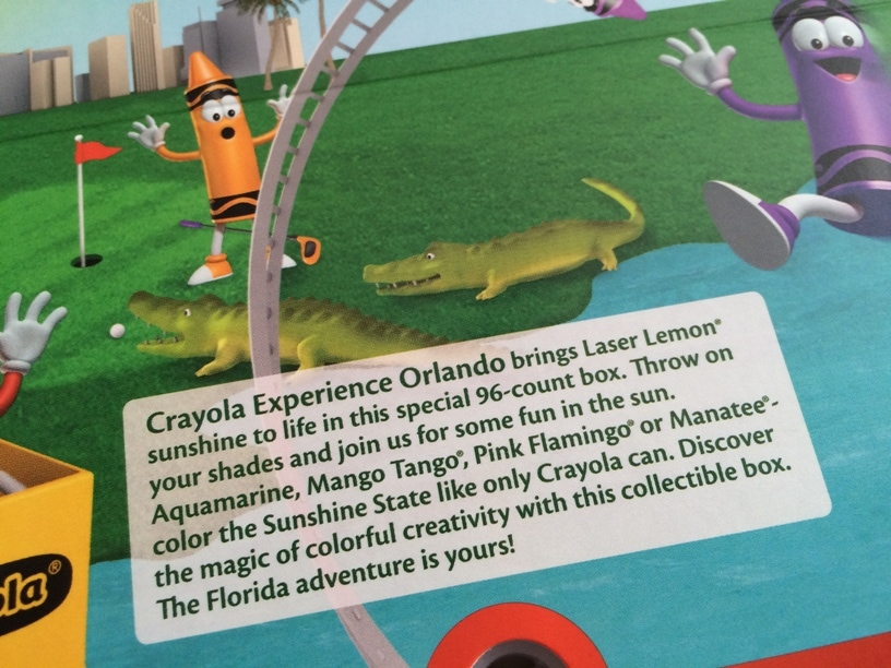 Crayola Florida Crayon Colors
