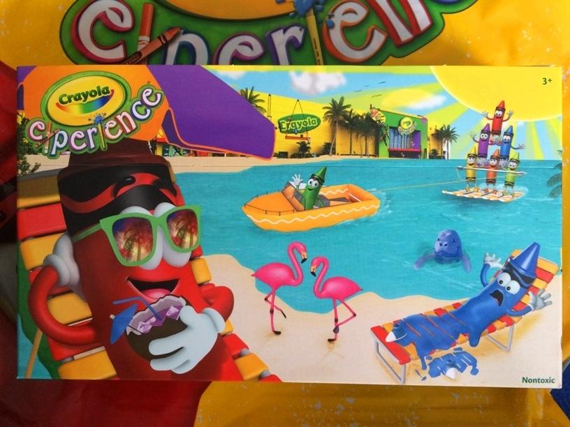 Crayola Florida Box of Crayons Crayola Experience