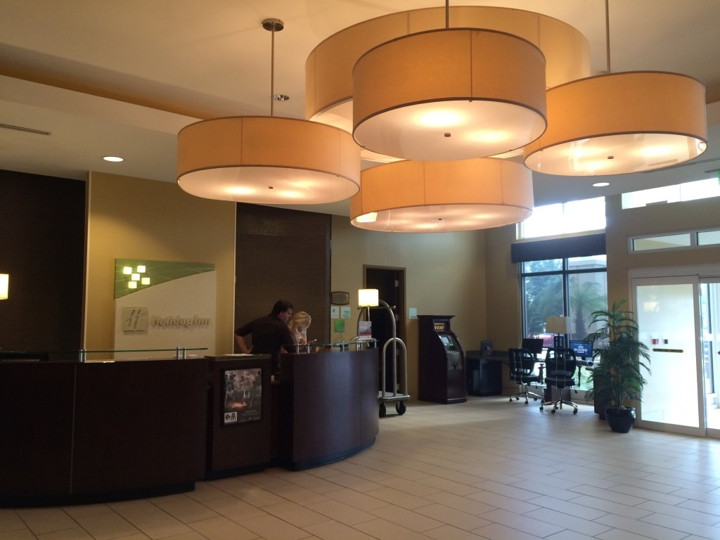Holiday Inn Titusville Lobby