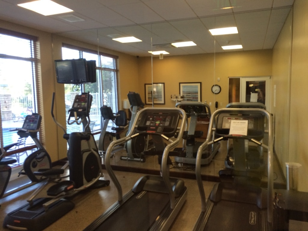 Holiday Inn Titusville Workout Room