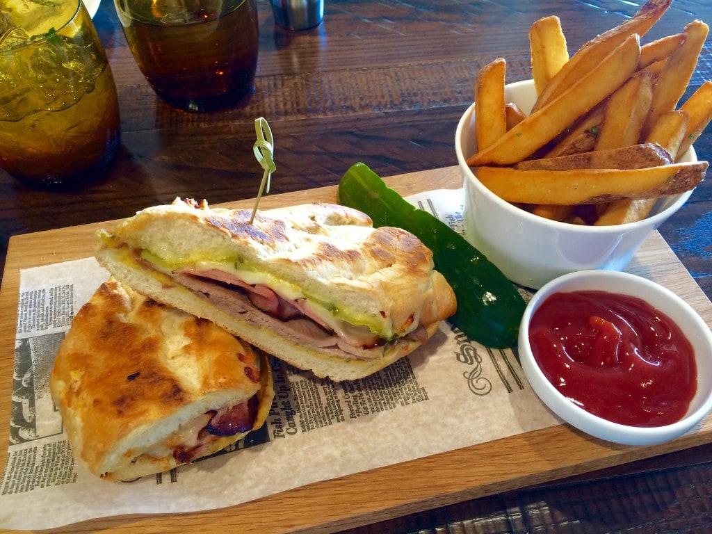 El Cubano Sandwich Plancha Four Seasons Orlando