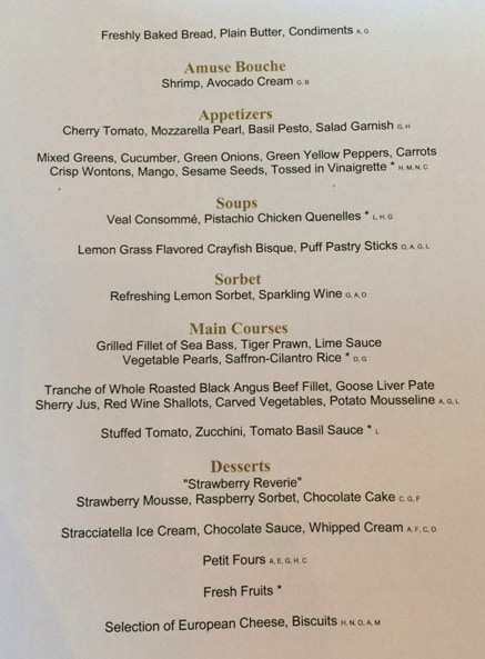 What's the Food Like on an AmaWaterways River Cruise? Menus