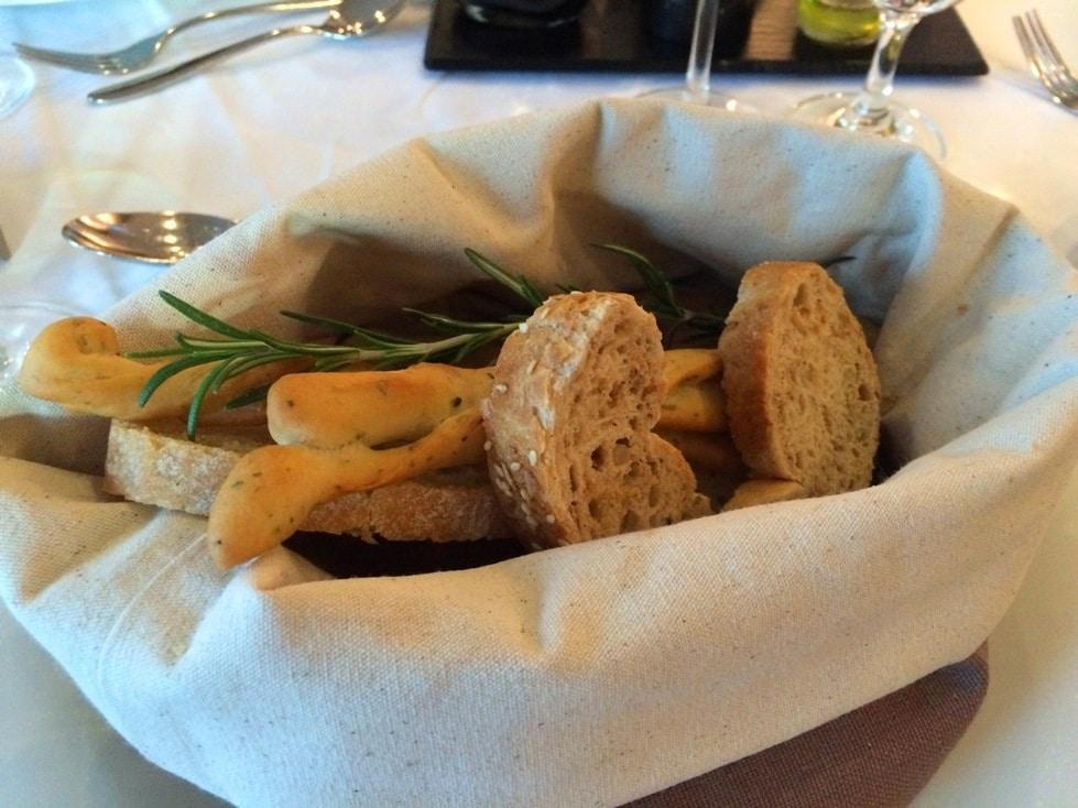 Bread basket AmaWaterways