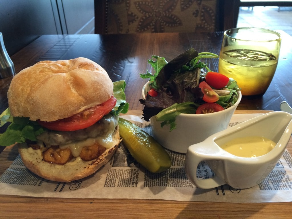 Plancha Burger Four Seasons Orlando