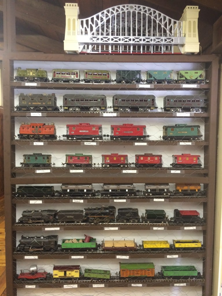 The Right Track Train Museum Lake Lure Display Trains