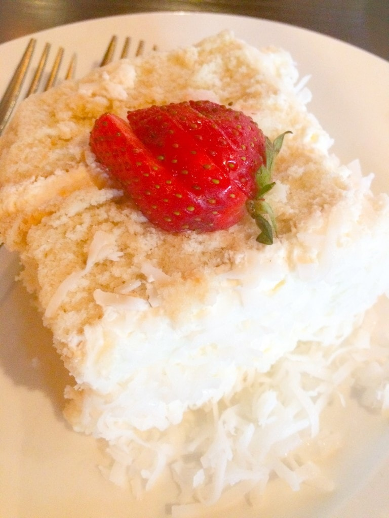 Famous Coconut Cake Caprino's Italian Magical Dining Month Menu