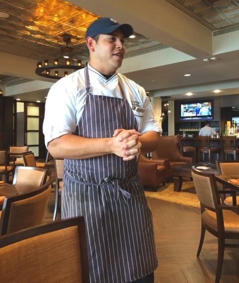 Chef Pedro Sanchez Four Seasons Orlando Resort Plancha