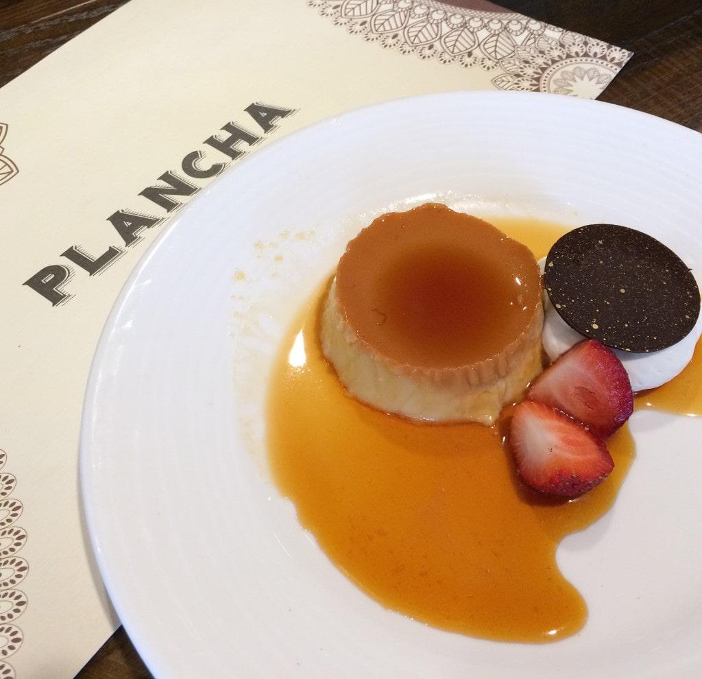Flan Plancha