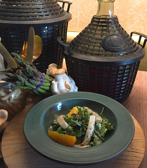 Grilled Calamari Ravello Magical Dining Menu Orlando