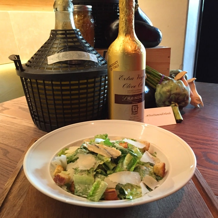 Caesar Salad Ravello Magical Dining Menu Orlando