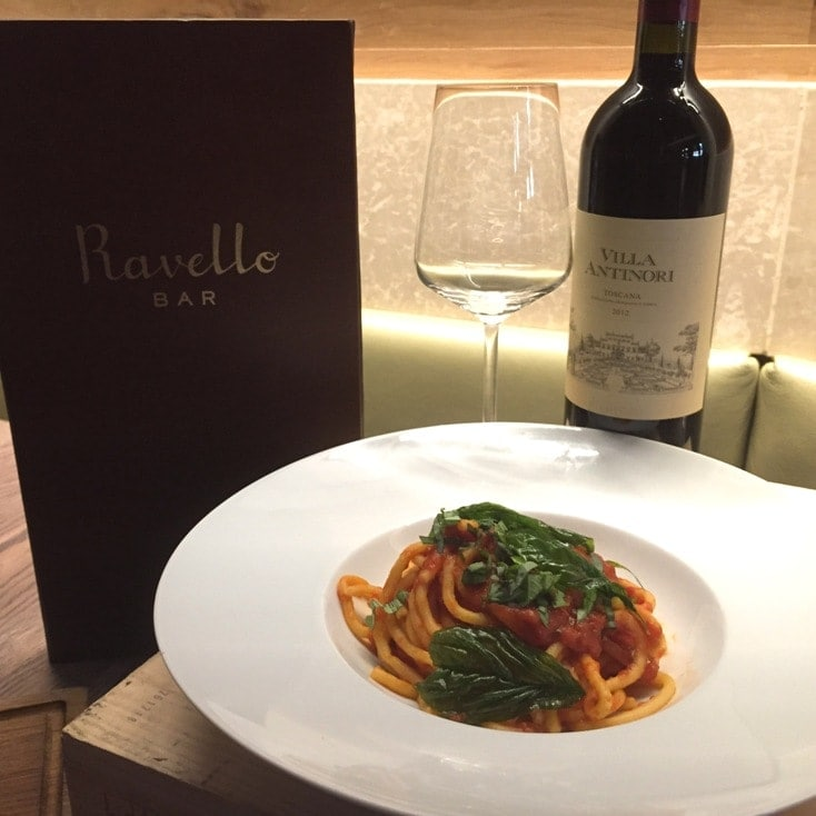 Spaghetti Ravello Magical Dining Menu Orlando