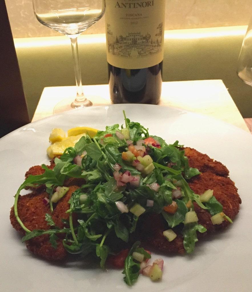 Veal Milanese Ravello Magical Dining Menu Orlando