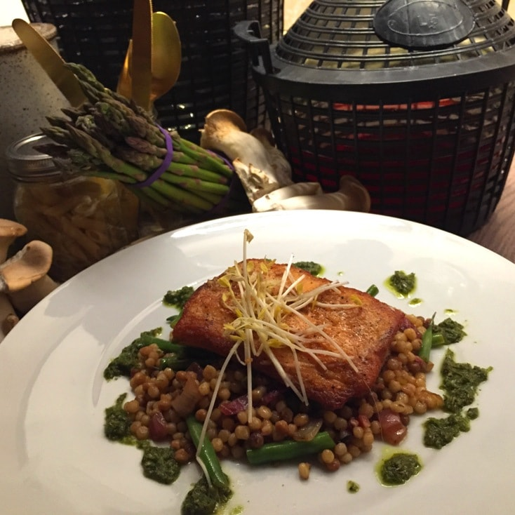 Pan Seared Salmon Ravello Magical Dining Menu Orlando