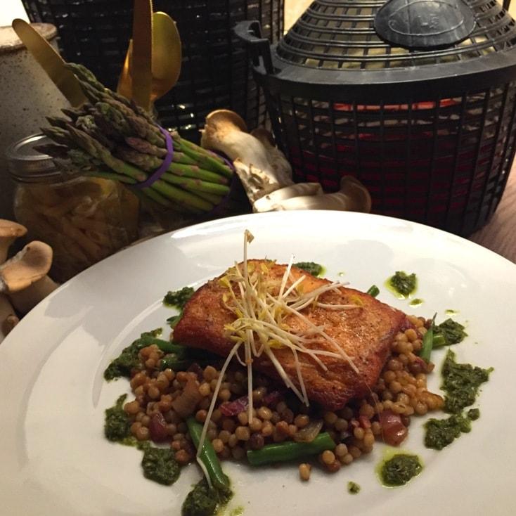 Pan Seared Salmon Ravello Magical Dining Menu Orlando