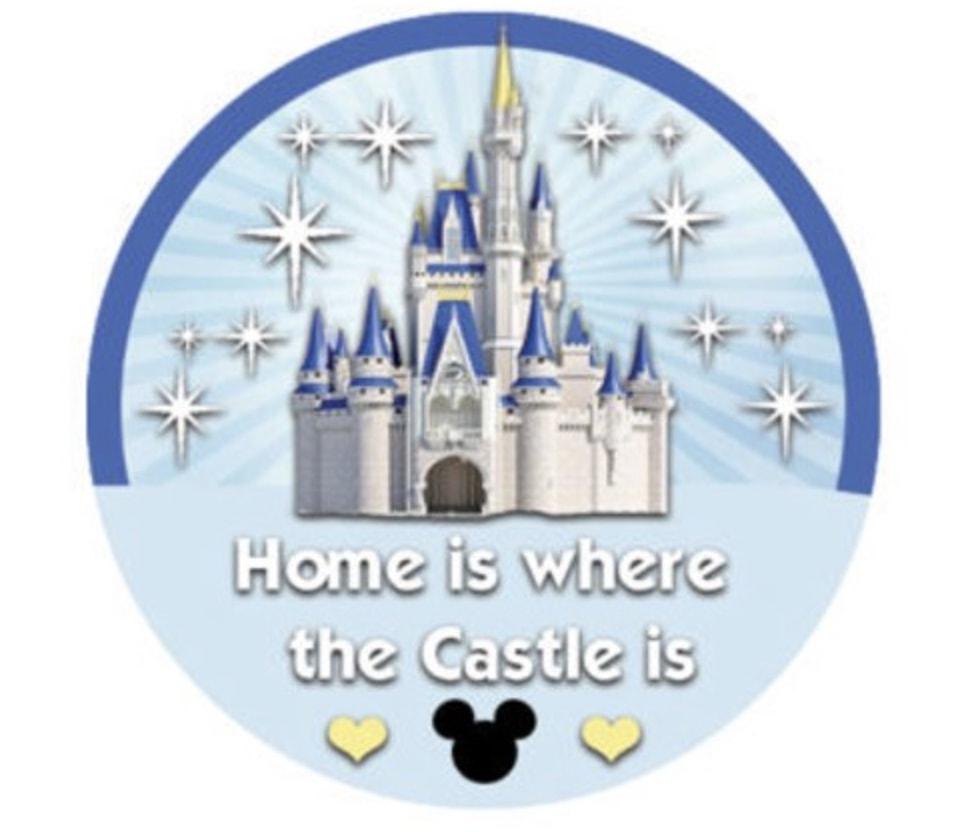 Walt Disney World Castle Home Pin