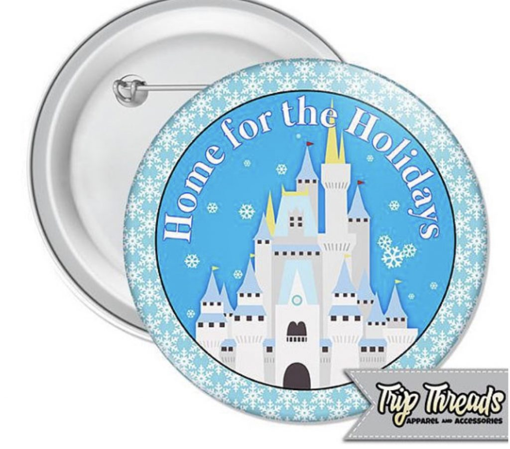 Magic Kingdom castle button