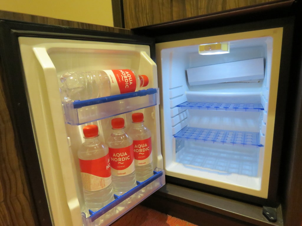 AmaCerto AmaWaterways Bottled Water in Refrigerator