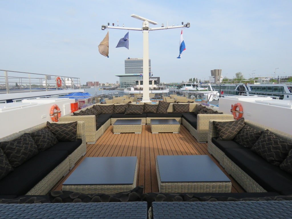 AmaCerto AmaWaterways Sun Deck Seating