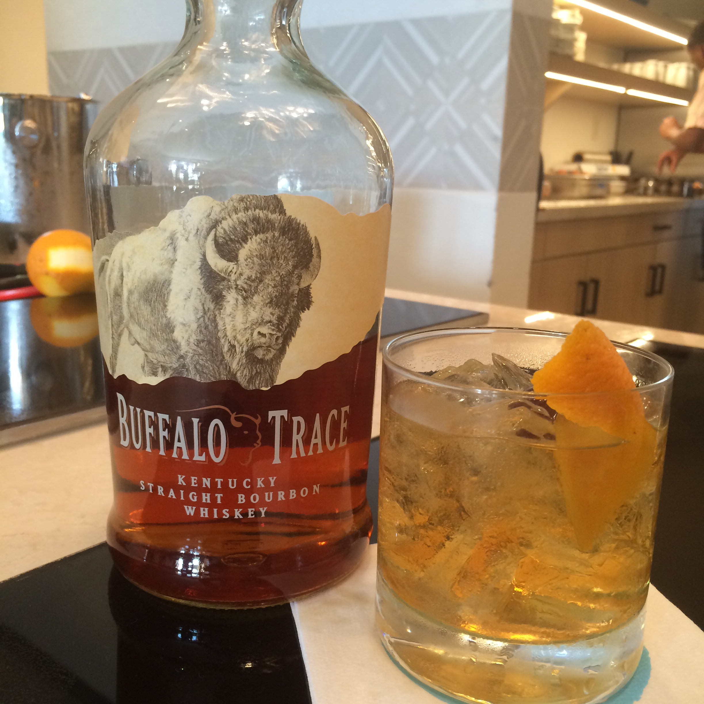 Buffalo Trace Bourbon Old Fashioned