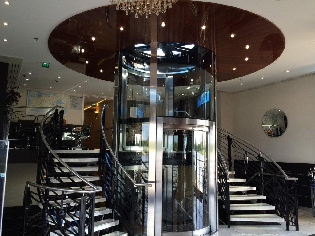 AmaCerto AmaWaterways Elevator and Stairs