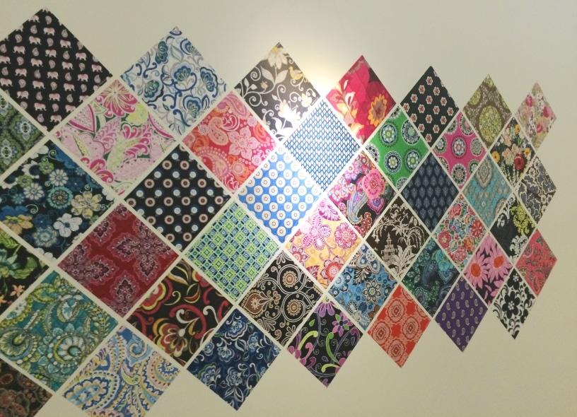 Vera Bradley Designs Pattern Wall 2