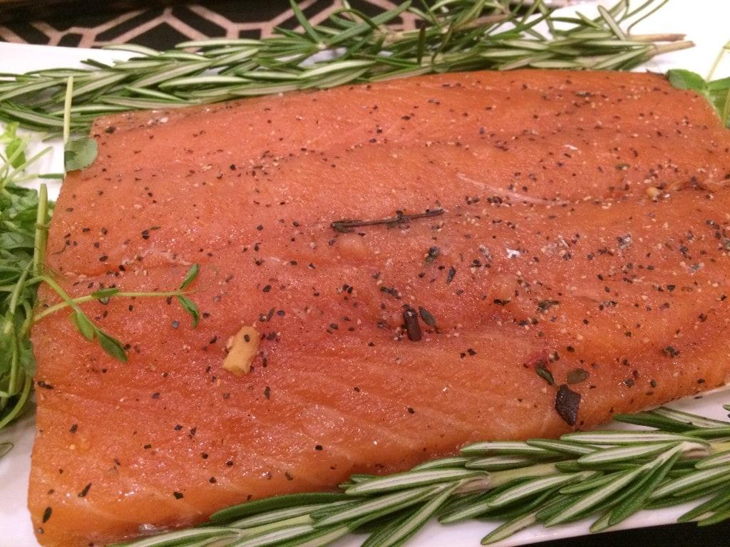 Vanilla Cured Smoked Salmon